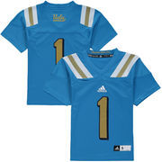 Youth adidas Light Blue UCLA Bruins #1 Replica Master Jersey