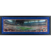 Chris Leak, Tim Tebow, Percy Harvin & Urban Meyer Florida Gators Autographed Framed 13.5'' x 40'' Photograph with Multiple Inscr