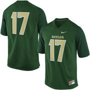 Men's Nike No. 17 Green Baylor Bears Replica Game Football Jersey
