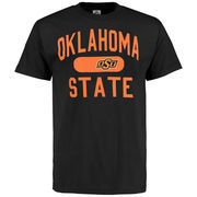 Men's Black Oklahoma State Cowboys Athletic Issued T-Shirt