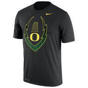 Men's Nike Black Oregon Ducks Legend Icon Dri-FIT Performance T-Shirt