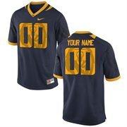 Nike Mens Cal Bears Custom Replica Football Jersey - Navy