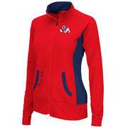Women's Fresno State Bulldogs Cardinal Slalom Full Zip Jacket