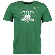 Men's Nike Green Ohio Bobcats Big Logo T-Shirt