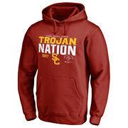 Men's Fanatics Branded Cardinal USC Trojans 2017 Rose Bowl Bound Nation Pullover Hoodie