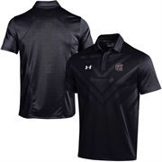 Men's Under Armour Black South Carolina Gamecocks 2015 Coaches Sideline Scout Polo