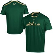 South Florida Bulls Under Armour Sideline Win It Performance T-Shirt - Green