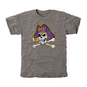 East Carolina Pirates Classic Primary Tri-Blend T-Shirt - Ash