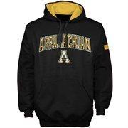 Appalachian State Mountaineers Black Automatic Hoodie Sweatshirt