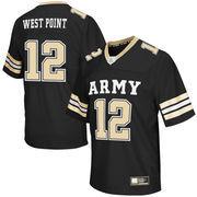 Men's Colosseum Black Army Black Knights Football Jersey