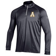 Men's Under Armour Black Appalachian State Mountaineers 1/4 Zip Performance Top