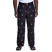 Men's Black Missouri Tigers Allover Print Pants