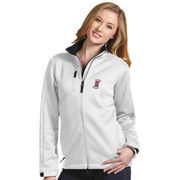Women's Antigua White Stanford Cardinal Traverse Full-Zip Jacket