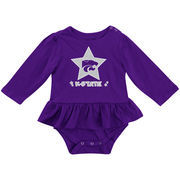 Girls Newborn & Infant Colosseum Purple Kansas State Wildcats Day Dreamer Bodysuit