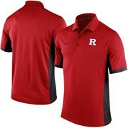 Men's Nike Red Rutgers Scarlet Knights Team Issue Performance Polo