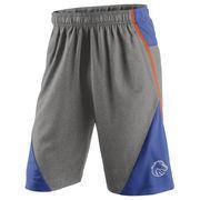 Men's Nike Heathered Gray/Royal Boise State Broncos Fly XL 4.0 Shorts