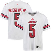 Men's adidas Teddy Bridgewater White Louisville Cardinals Obsolete Jersey