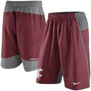 Men's Nike Crimson Washington State Cougars Fly 3.0 Shorts