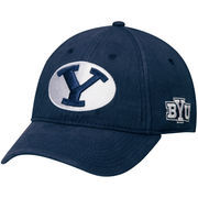 Men's Navy BYU Cougars Mallory Structured Adjustable Hat