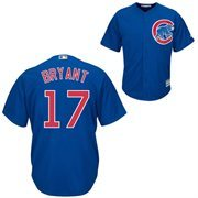 Men's Majestic Kris Bryant Royal Chicago Cubs 2015 Cool Base Player Jersey