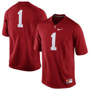 Men's Nike No. 1 Cardinal Stanford Cardinal Replica Game Football Jersey