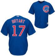 Men's Majestic Kris Bryant Royal Chicago Cubs Cool Base Player Jersey