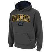 Men's Stadium Athletic Charcoal Cal Bears Arch & Logo Pullover Hoodie