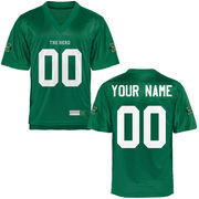 Marshall Thundering Herd Personalized Football Name & Number Jersey - Green