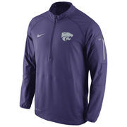 Men's Nike Purple Kansas State Wildcats Hybrid Performance Jacket