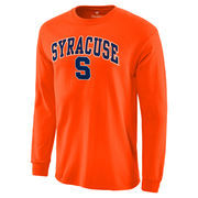 Men's Orange Syracuse Orange Campus Long Sleeve T-Shirt