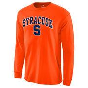 Men's Orange Syracuse Orange Campus Long Sleeve T-Shirt