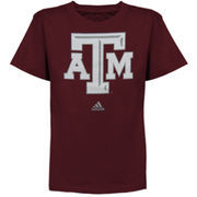 adidas Texas A&M Aggies Preschool Primary Logo T-Shirt - Maroon