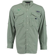 Men's PING Green South Florida Bulls Super Bonehead PFG Long Sleeve Shirt
