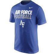 Men's Nike Royal Blue Air Force Falcons Practice T-Shirt