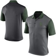 Men's Nike Gray Baylor Bears 2015 Coaches Preseason Sideline Polo