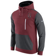Men's Nike Crimson/Charcoal Arkansas Razorbacks AV15 Fleece Pullover Hoodie