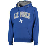 Men's Stadium Athletic Royal Air Force Falcons Arch & Logo Pullover Hoodie