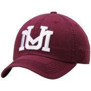Men's Top of the World Maroon Montana Grizzlies Solid Crew Adjustable Hat