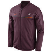 Men's Nike Maroon Virginia Tech Hokies 2016 Sideline Elite Hybrid Performance Jacket
