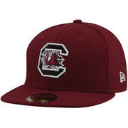 New Era South Carolina Gamecocks 59FIFTY Fitted Hat - Garnet