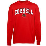 Cornell Big Red Youth Midsize Long Sleeve T-Shirt - Red