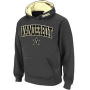 Men's Stadium Athletic Charcoal Vanderbilt Commodores Arch & Logo Pullover Hoodie