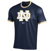 Men's Under Armour Navy Blue Notre Dame Fighting Irish Sideline Huddle Performance T-Shirt