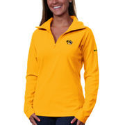 Women's Columbia Gold Missouri Tigers Glacial II Quarter-Zip Fleece Jacket