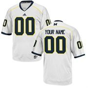 adidas Michigan Wolverines Replica Football Jersey - White