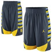 Nike Marquette Golden Eagles Replica Basketball Short - Navy Blue