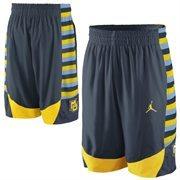 Nike Marquette Golden Eagles Replica Basketball Short - Navy Blue