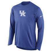 Men's Nike Royal Kentucky Wildcats 2016-2017 Basketball Player Elite Shooter Performance Top