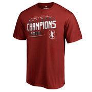 Men's Fanatics Branded Cardinal Stanford Cardinal 2016 NCAA Women's Volleyball National Champions T-Shirt
