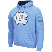 Men's Stadium Athletic Carolina Blue North Carolina Tar Heels Big Logo Pullover Hoodie